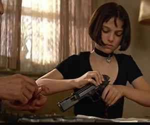 90s, leon the professional, and black image
