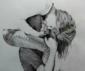 art, cute, and couple image
