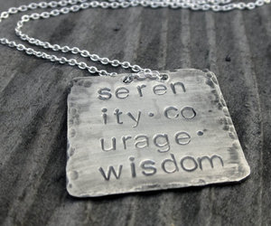 courage, neclace, and serenity image