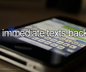 text and iphone image