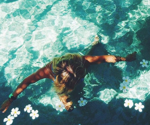 summer, tropical, and flowers image