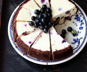 blueberry, dessert, and food image
