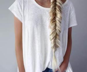 braid, fashion, and hair image