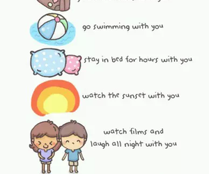 cuddle, sweet, and cute image