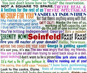 funny and seinfeld image