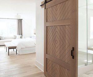 bedroom, design, and door image