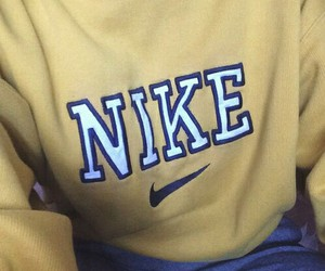 fashion, nike, and yellow image