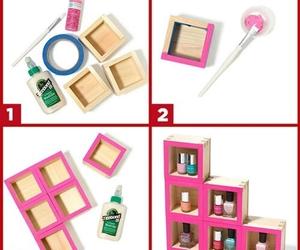 diy, pink, and nails image