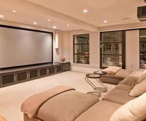 cinema, house, and home image