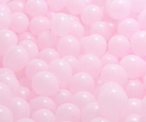 pink, tumblr, and balloons image