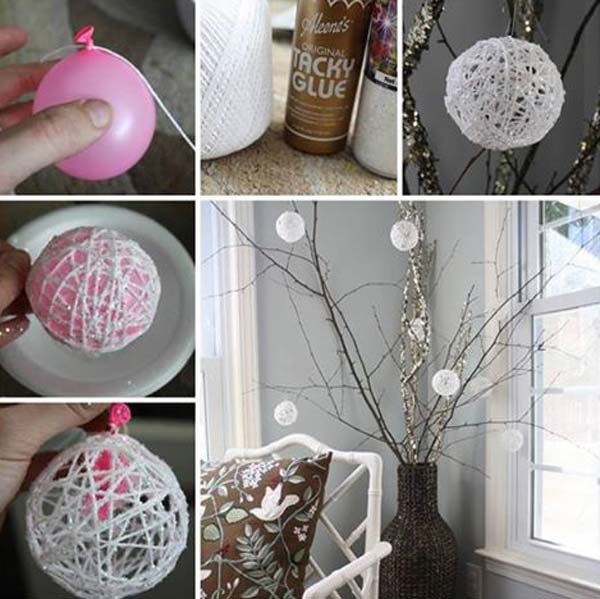 balloon, string, and easy diy image