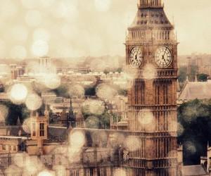 architecture, city, and rain image