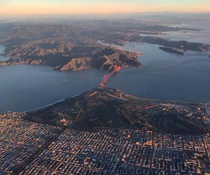 bay, golden gate bridge, and beautiful image