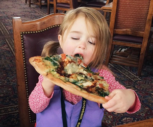 pizza, food, and baby image