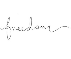 freedom, life, and quote image