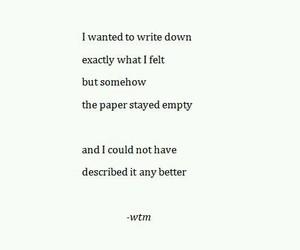 empty, sad, and story image