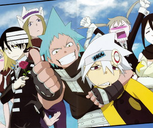 anime, black star, and soul eater image