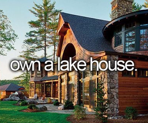 house, bucket list, and goals image