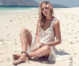 beach, vibes, and boho image