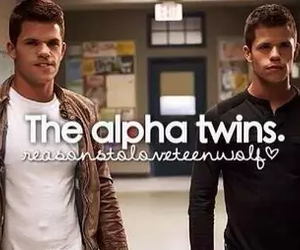 ethan, twins, and teen wolf image