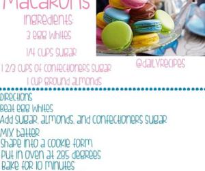 diy, macaroons, and macarons image