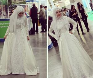 beauty, hijab, and model image