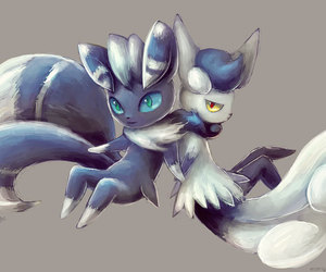 devianART, pokemon, and meowstic image