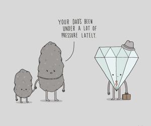 diamond, funny, and pressure image