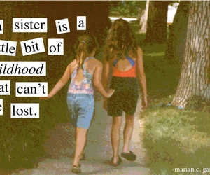 quote and sisters image