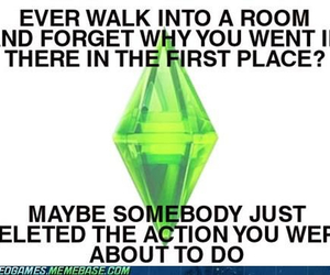 sims, funny, and the sims image
