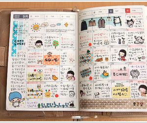 notebook, planner, and diary image