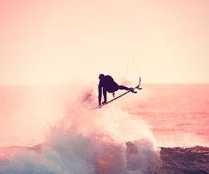 landscapes, surf, and surfer image