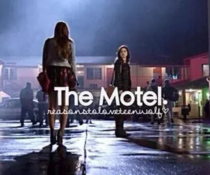 teen wolf, motel, and allison argent image