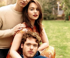 game of thrones, richard madden, and emilia clarke image