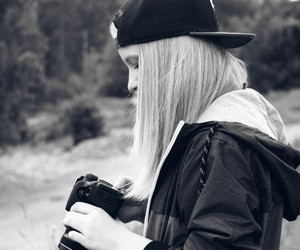 blond, girl, and photography image