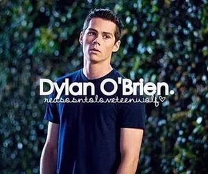 boy, dylan o'brien, and stiles stilinski image