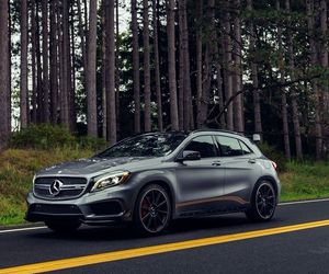 cars, class, and gla image
