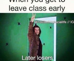 Harry Styles, funny, and school image