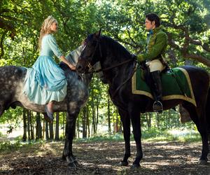 cinderella, disney, and horse image