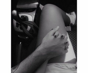couple, hands, and lovely image