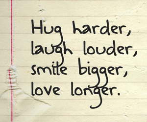 hug, laugh, and smile image