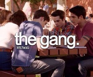 teen wolf, the gang, and scott mccall image
