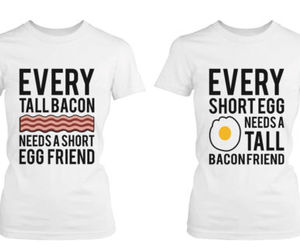best friends, funny shirts, and couple shirts image