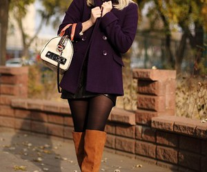 blonde, fashion, and style image