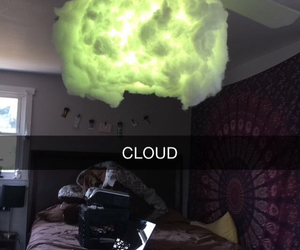 cloud, room decor, and diy image