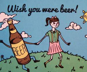 beer, wish, and funny image