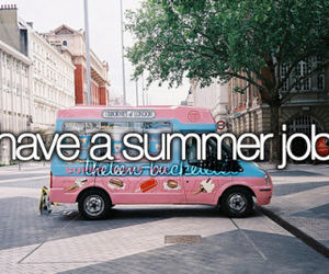 summer, job, and bucket list image