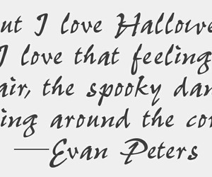 fall, Halloween, and evan peters image