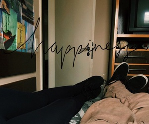 couple, happiness, and hipster image