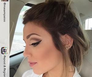 makeup, deliniador, and mariana sampaio image
